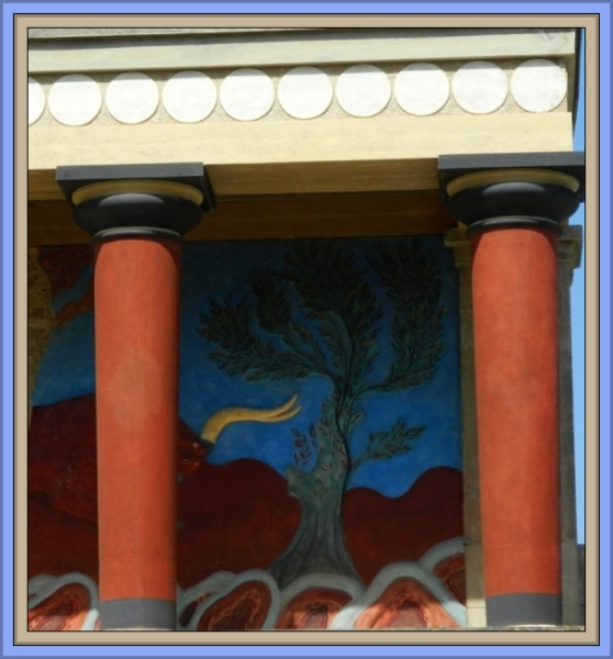 Knossos Bull Portico