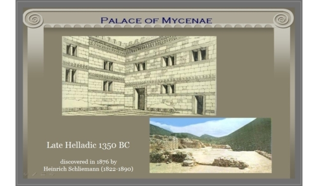 Palce of Mycenae Late Helladic