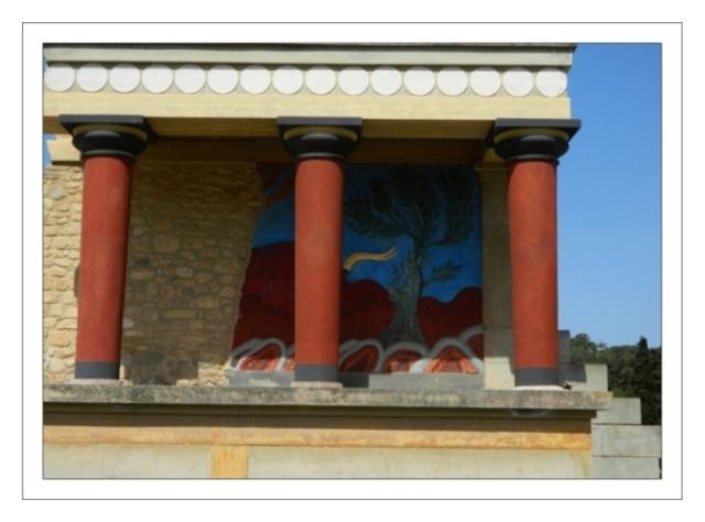 Knossos Palace, Bull Fresco