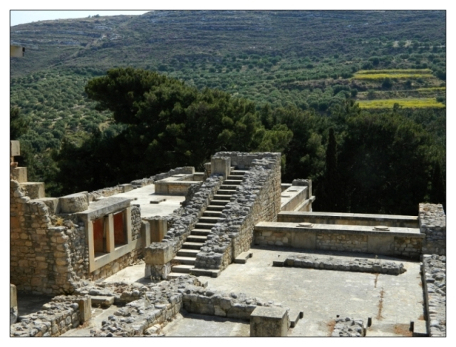 Knossos, general view of site