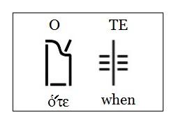 OTE ote when