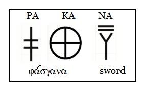 PAKANA sword