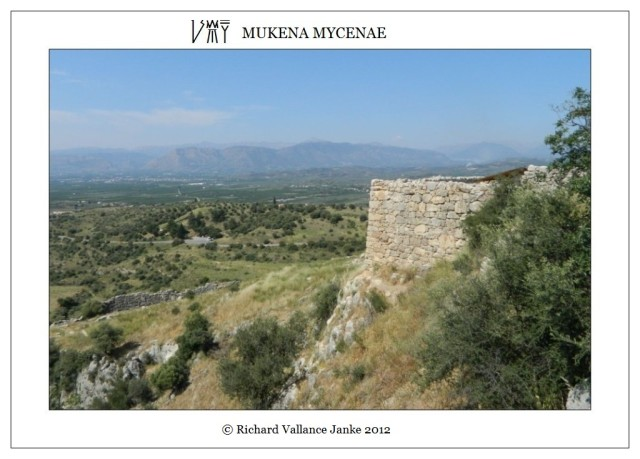 fortifications of Mycenae