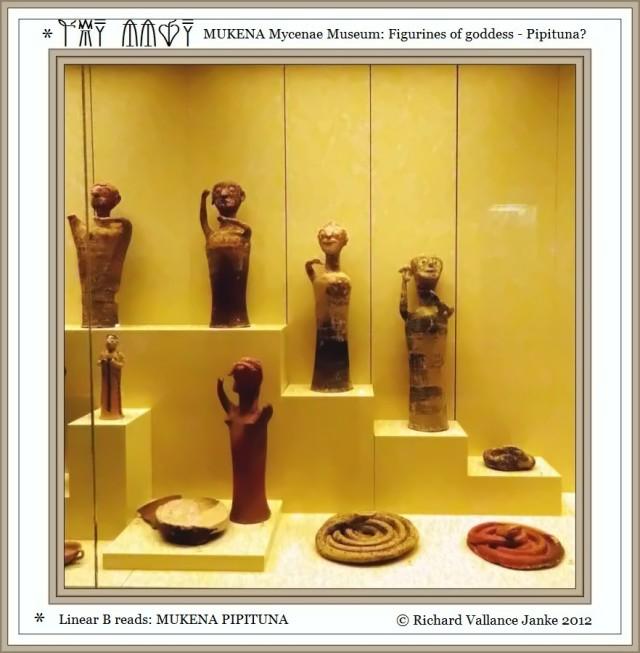 Mycenae Museum goddesses Pipituna