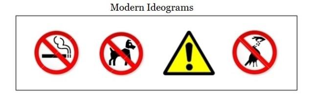 modern ideograms