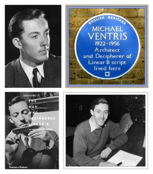Michael Ventris collage a