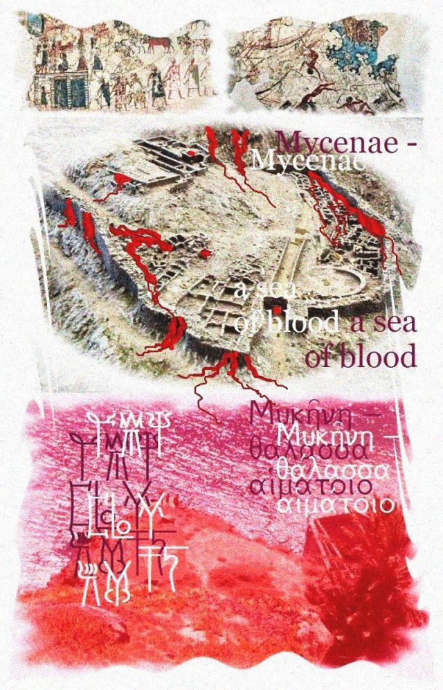 Haiku Mycenae sea of blood