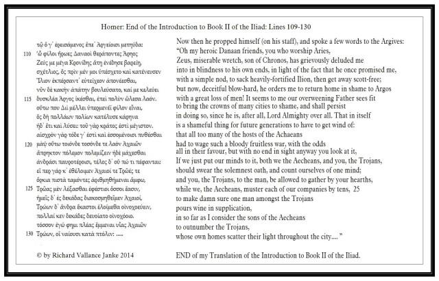 Iliad 2 109-130 Greek1800