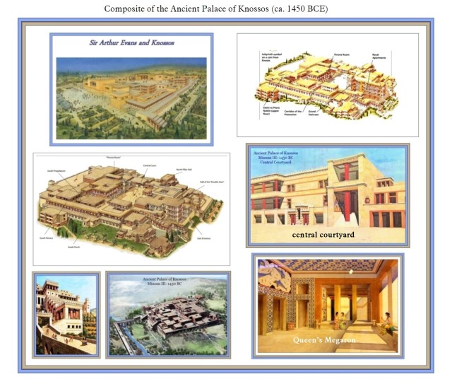 Ancient Palace of Knossos Composite