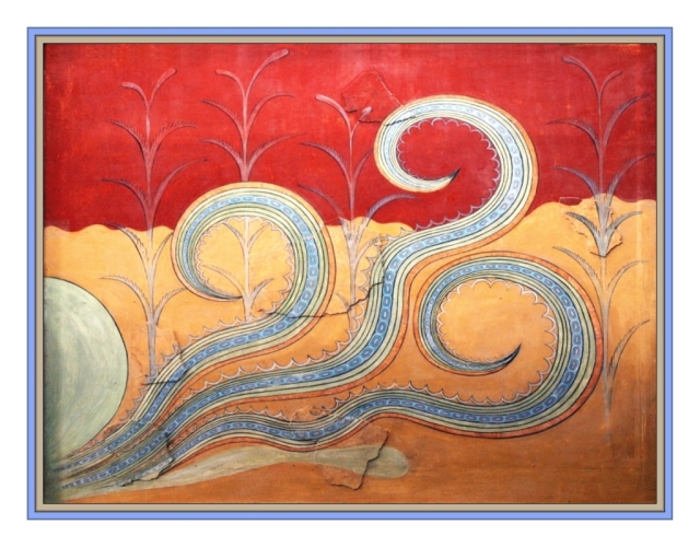 Octopus Fresco Knossos May 2012