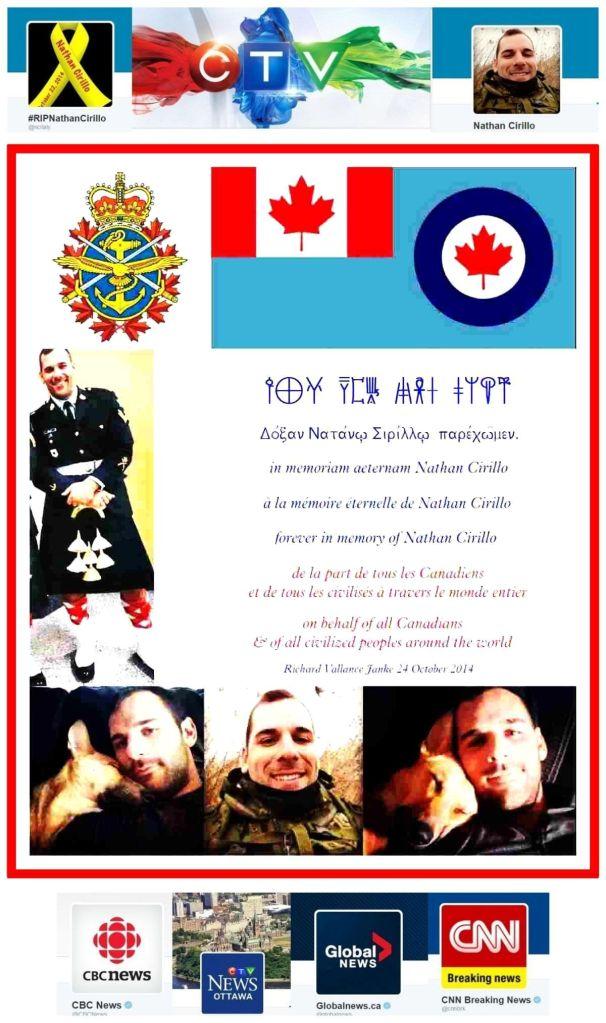 in memoriam Corporal Nathan Cirillo