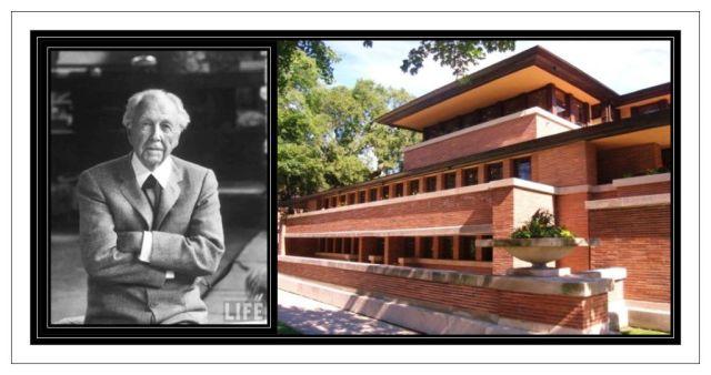 Frank Lloyd Wright 1867-1957 & Minoan like home
