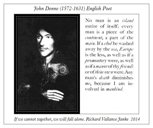 John Donne No Man is an Island