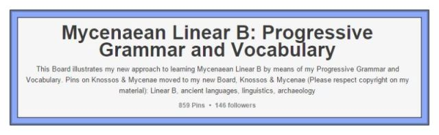 Mycenaean Linear B PINTEREST