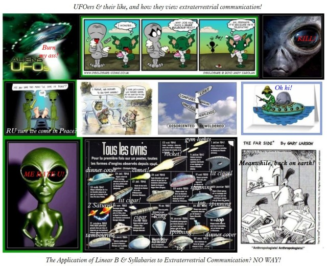 UFOers and silly ideas about extraterrestrial intelligence