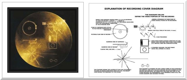 Voyager 1 & 2 golden record