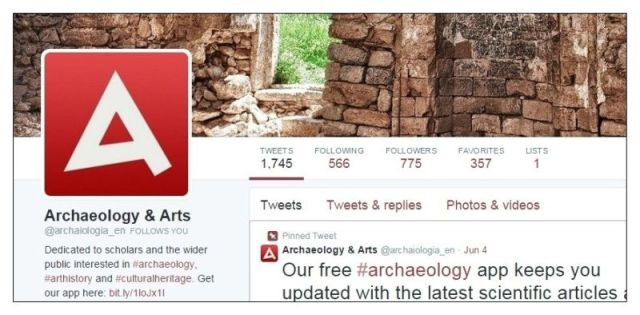 Twitter Archaeology & Arts