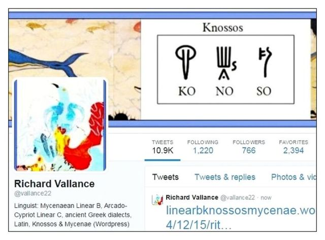 Twitter KONOSO Knossos