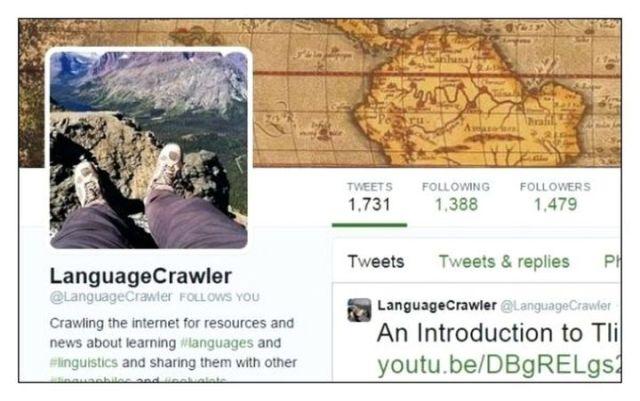Twitter language crawler