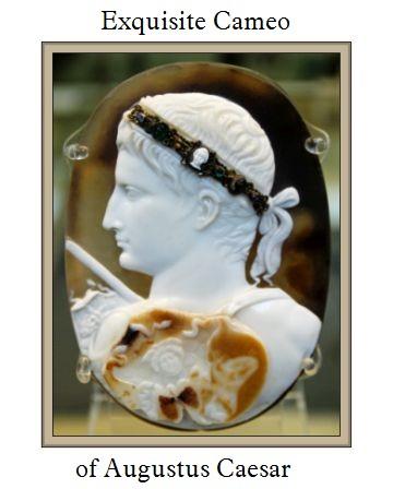 Cameo of Augustus Caesar