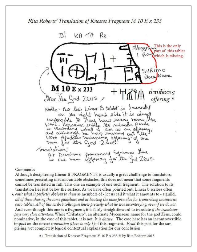 KN M 10 E x 233 fragmenrt  one Ram