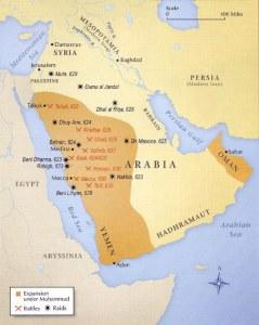 islam expansion