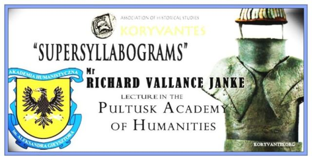 Supersyllabograms by Richard Vallance Janke Pultusk Academy Humanities Warsaw