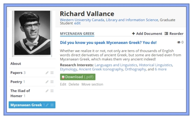 Did you know you speak Mycenaean Greek