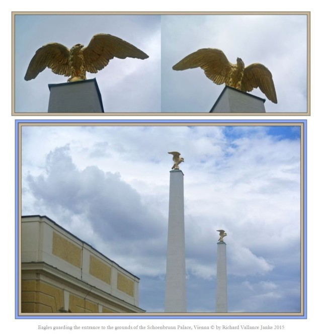 Schoenbrunn Palace Eagles on Guard