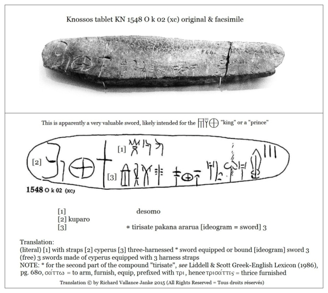 Knossos Tablet KN 1548 O k 02 composite