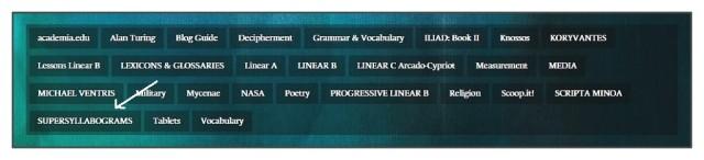 LBKM menu