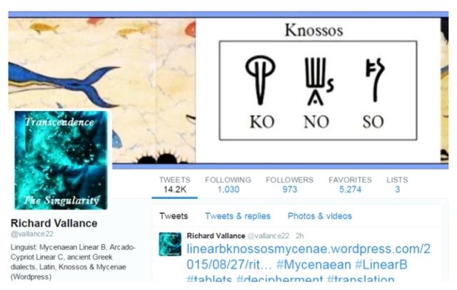 twitter vallance 22 Knossos