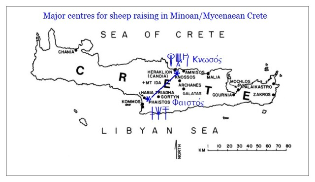 Minoan Mycenaean Crete Knossos Phaistos and other centres
