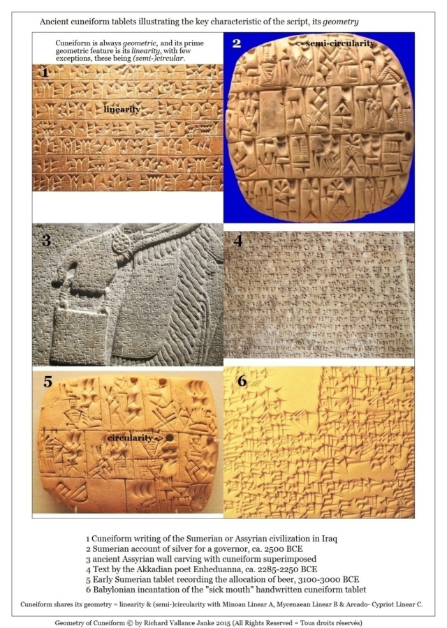 B Sumerian Akkadian Babylonian stamping