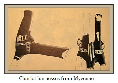 Chariot harnessing fro Mycenae