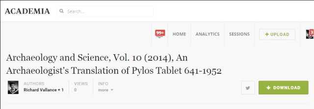 academia.edu Archaeology and Science Vol 10 2014