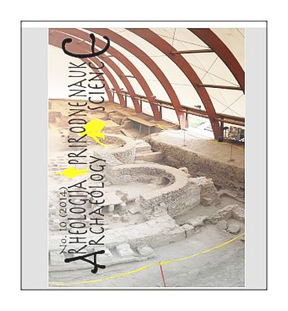 Archaeology and Science Vol 10 2014