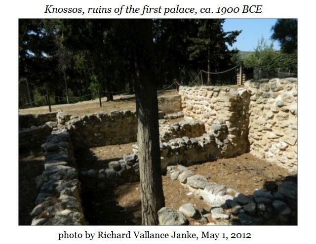 Knossos first palace a