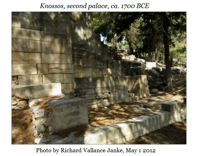 Knossos second palace d
