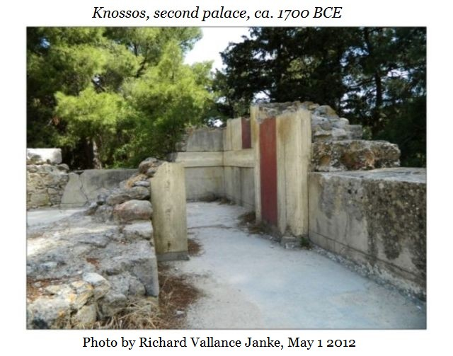 Knossos second palace f