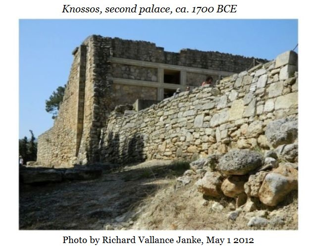 Knossos second palace g