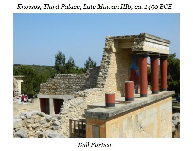 Bull Portico Knossos c