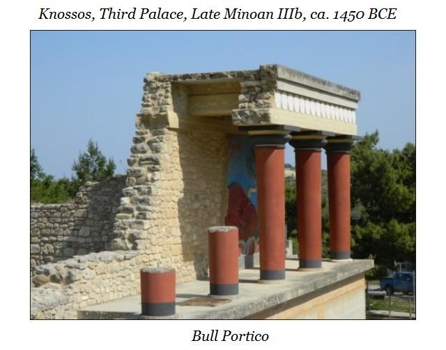 Bull Portico Knossos d