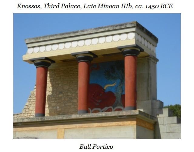 Bull Portico Knossos e