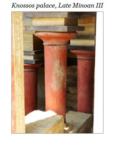 columns Knossos a