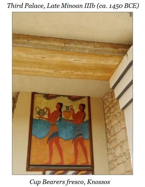 cup bearers fresco Knossos c