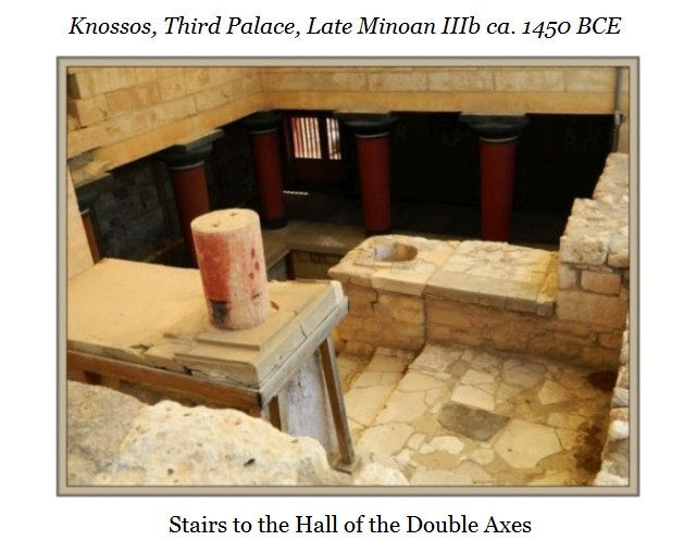 Knossos Hall of the Double Axes a