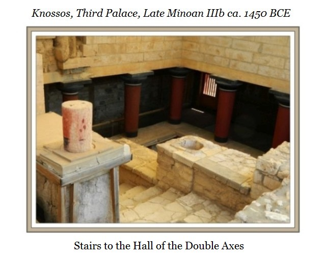 Knossos Hall of the Double Axes b