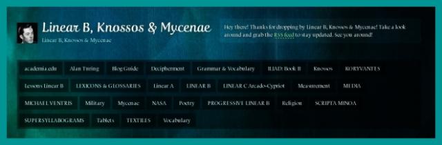 Linear B, Knossos & MycenaeLINK