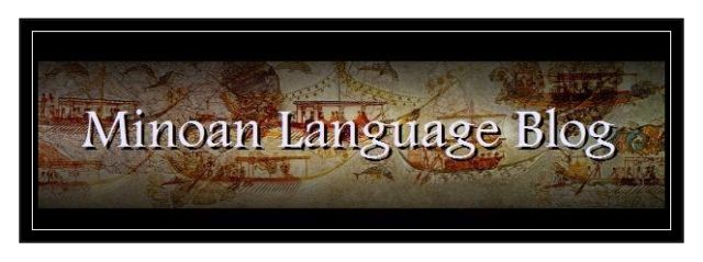 Minoan Language Blog